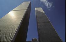 Manhattan #09 World Trade Center 1999 by Wolfgang Cezanne