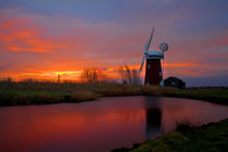 Horsey Windmill,Norfolk. von Bill Pound