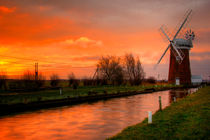 Horsey Windpump,Norfolk von Bill Pound