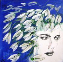 Winterfrau by atelier-farbenherz