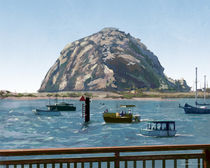 Morro Rock by Danny Silva