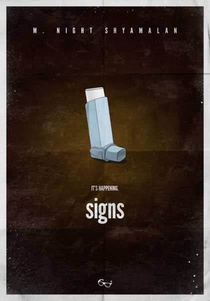 """""""m Night Shyamalan  Signs Minimal Movie Poster"""" Picture. Weapon Signs. Dlj Ral Signs Of Stroke. Line Symbol Signs Of Stroke. Sad Signs Of Stroke. Signal Signs. Risk Factor Signs. Reality Signs Of Stroke. Refill Station Signs"""