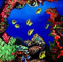 Coral Reef by brenda  Marik-Schmidt