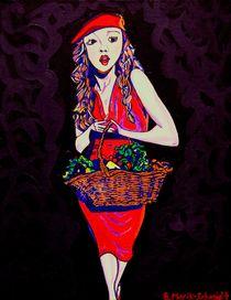 Red Riding Hood Grown Up by brenda  Marik-Schmidt