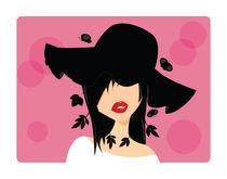 Girl in a hat von bluelela