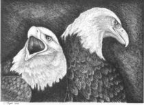 Eagles in Ink von Lawrence Tripoli