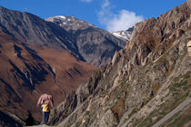 Enjoying the Scenery Yak Kharka to Thorung Phedi by serenityphotography