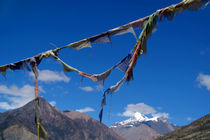 Prayer Flags in Manang von serenityphotography