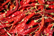 Red Chillies Drying in Kathmandu by serenityphotography