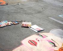 Strassenmalerei / Streetpainting von Gabriele Pomykaj