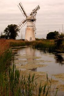 Thurne Dyke Drainage Mill von Bill Pound