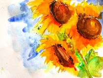 Sonnenblumen by Jacqueline Schreiber