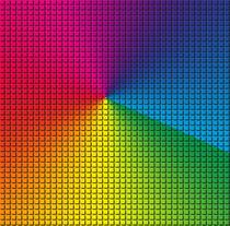 Rainbow Squared2 von mellimage