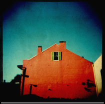 Red house, New Orleans by Sonya Percival