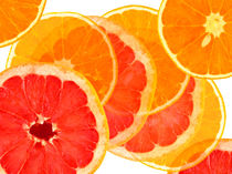 Grapefruit and Orange by Cesar Palomino