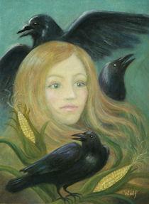 Crow Queen von Bernadette Wulf