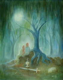 Moonlight Hallows by Bernadette Wulf