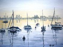 'Bojenfeld am Untersee' von Christine  Hamm