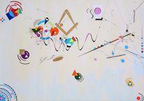 spielerisch Farbenfroh Hasse ART von Künstler Ralf Hasse