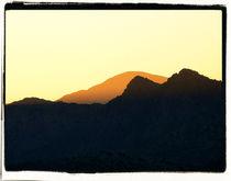 Mountain Abstract 1 von Brian Grady