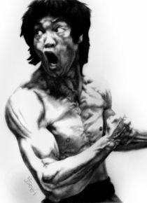 Bruce Lee by Hagop Der Hagopian