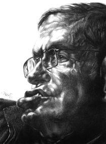 Stephen Hawking by Hagop Der Hagopian