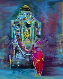 Ther - Temple Car von Usha Shantharam