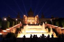 Palau Nacional en Placa Espanya, Barcelona by Melania Mazur