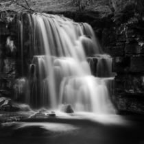 East Gill Force (Black & White) by John Hare
