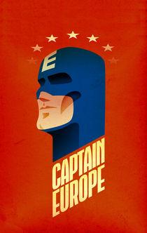 Captain Europe von astronaut