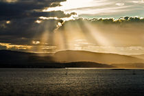 Abendstimmung am Fjord von gfischer