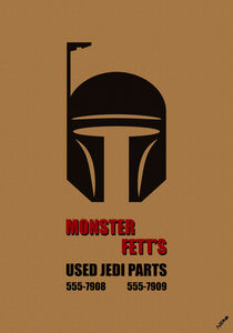 Monster Fett's: Used Jedi Parts by neronera