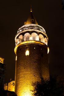 Galata Tower from Istanbul by Evren Kalinbacak