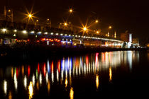 Galata Bridge from Istanbul by Evren Kalinbacak