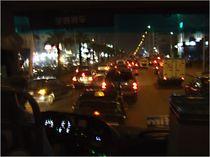 Nachtfahrt in London von Karel Plechac