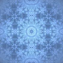 Everest Misty Morning Mandala von Richard H. Jones