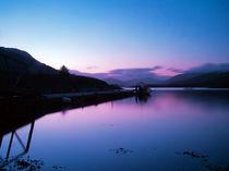 Loch Leven Sunset by Amanda Finan
