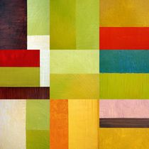 Color Study Abstract 9.0 von Michelle Calkins