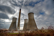 Richborough Power Station by Alice Gosling