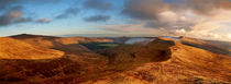 Black Mountains Panorama by Nigel Forster