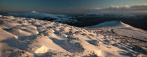 Black Mountains Winter Panorama von Nigel Forster