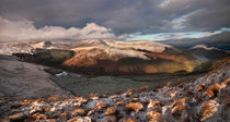 Brecon Beacons Winter Panorama von Nigel Forster