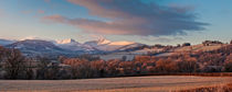 Pen y Fan Winter Frost von Nigel Forster