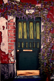 Die grüne Tür von Marie Luise Strohmenger