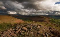 Mynydd Llangorse Landscape von Nigel Forster