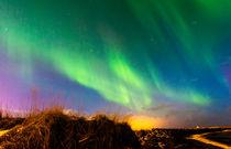 Aurora Borealis, over Reykjavik von Graham Prentice