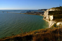 Dover Docks and the Famous White Cliffs by serenityphotography