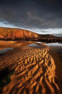 Freshwater West Sand pattern by Nigel Forster
