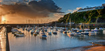 Saundersfoot Morning Glow by Nigel Forster