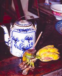Teestunde bei einem Mönch - Vietnam  von captainsilva